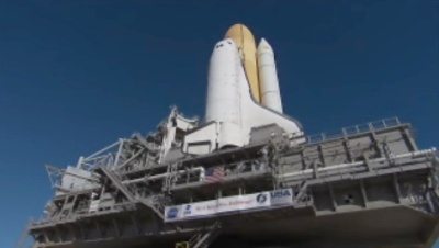 STs-130 Rollout