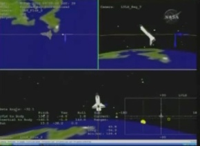 Chasing ISS