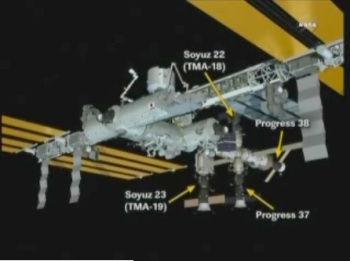 ISS from Soyuz