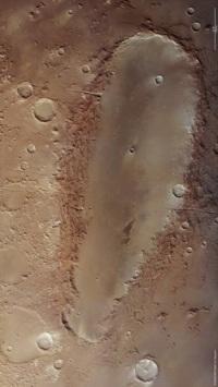 Orcus Patera - Mars
