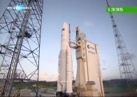 Ariane 5 Hispasat Launch