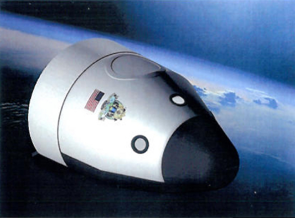 Nasa Spaceship Design Blue origin spacecraft