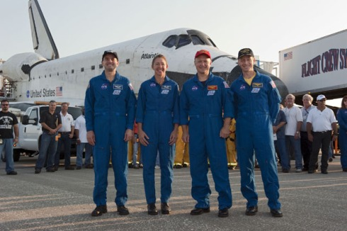 Atlantis and Crew