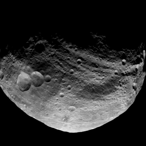 Dawn Image of Vesta