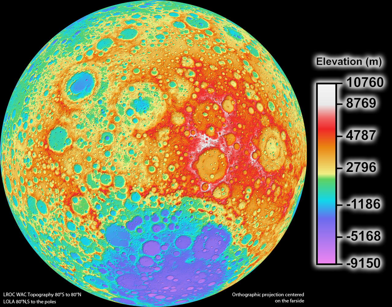 promo code 9cdfe ec822 100 meter resolution lunar topographic map