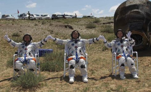 Three Taikonauts