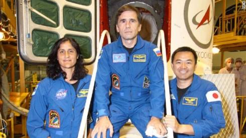 TMA-05M Crew