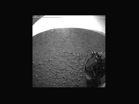 Curiosity Left Wheel