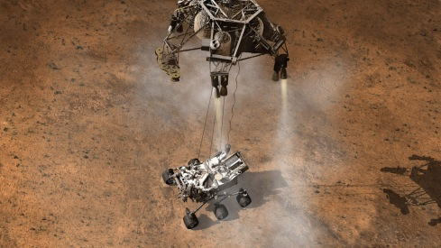 Curiosity Sky Crane