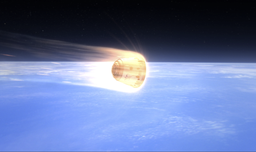 Dragon – Return to Earth – Reentry and Landing – National Space ...