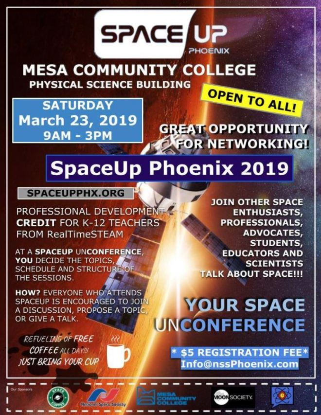 space up 2019 flyer $5